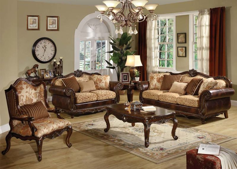 Dallas Designer Furniture | Remington Formal Living Room Set