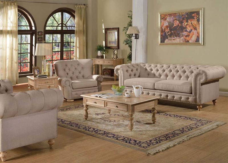 Dallas Designer Furniture | Shantoria Formal Living Room Set