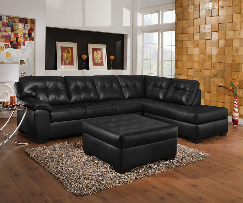 Shi Sectional in Onyx