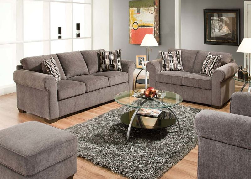 Torilyn Living Room Set in Steel