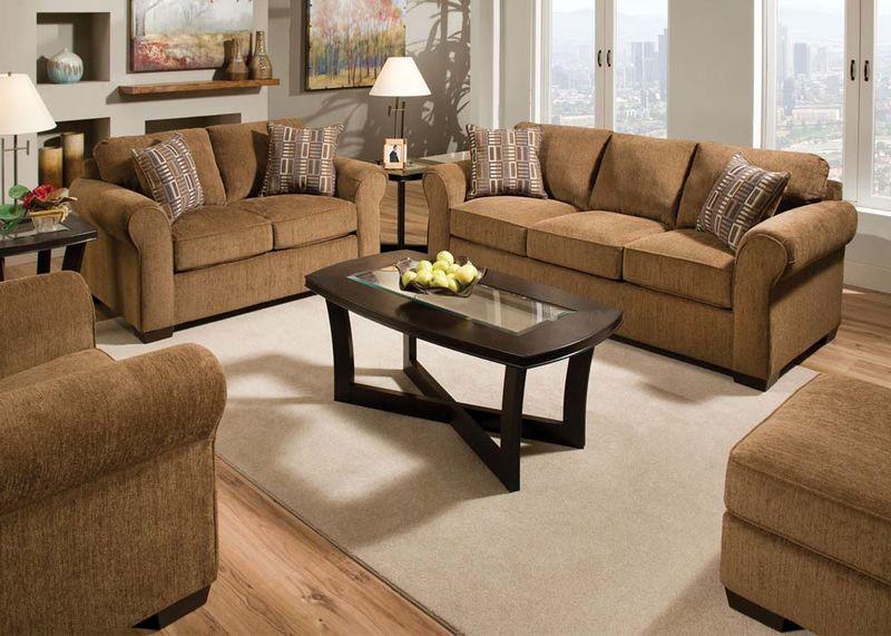 Torilyn Living Room Set in Walnut