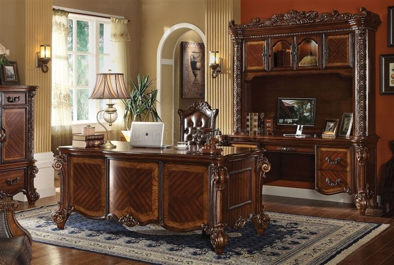 home office set. Vendome Executive Desk Home Office Set U