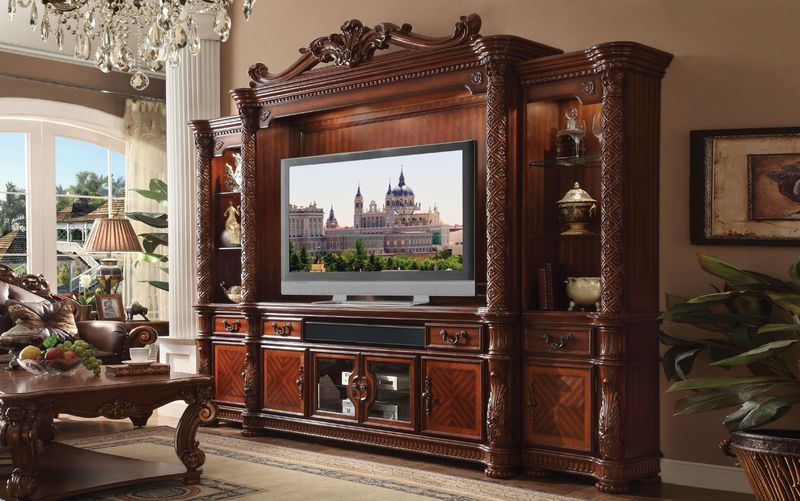 Vendome Entertainment Center in Cherry