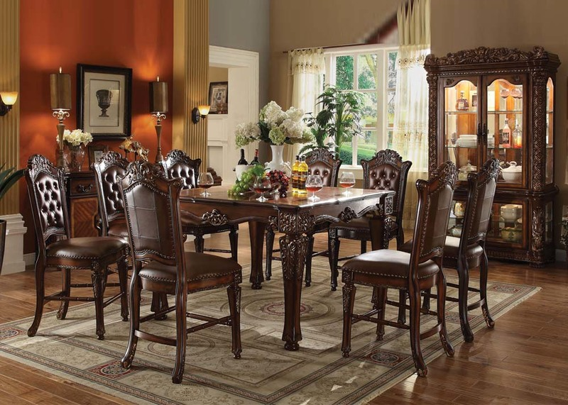 Dallas designer furniture adrian dining room set Dining room furniture dallas