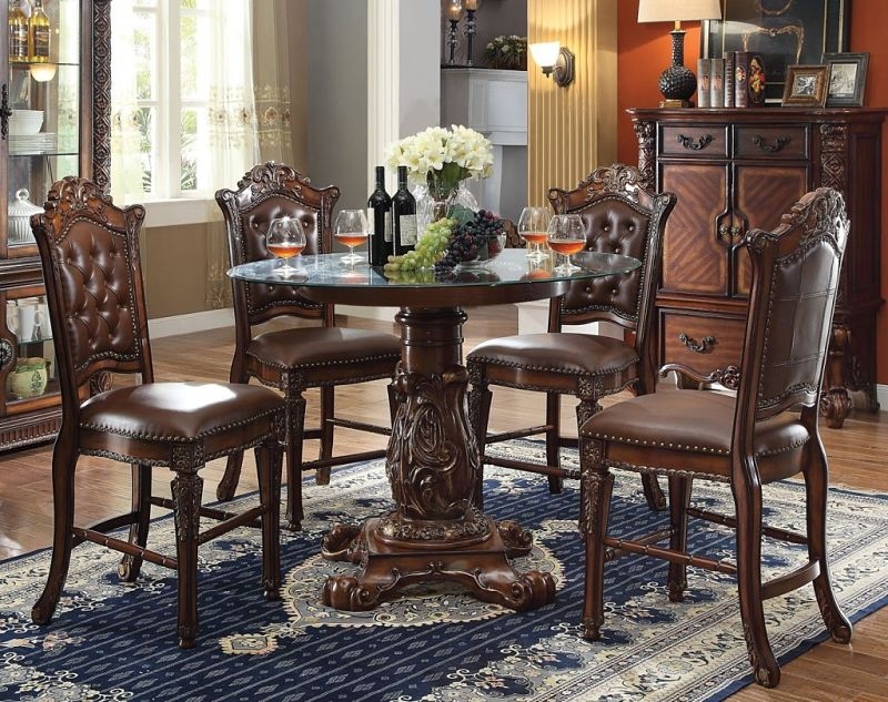 Vendome Round Counter Height Dining Room Set