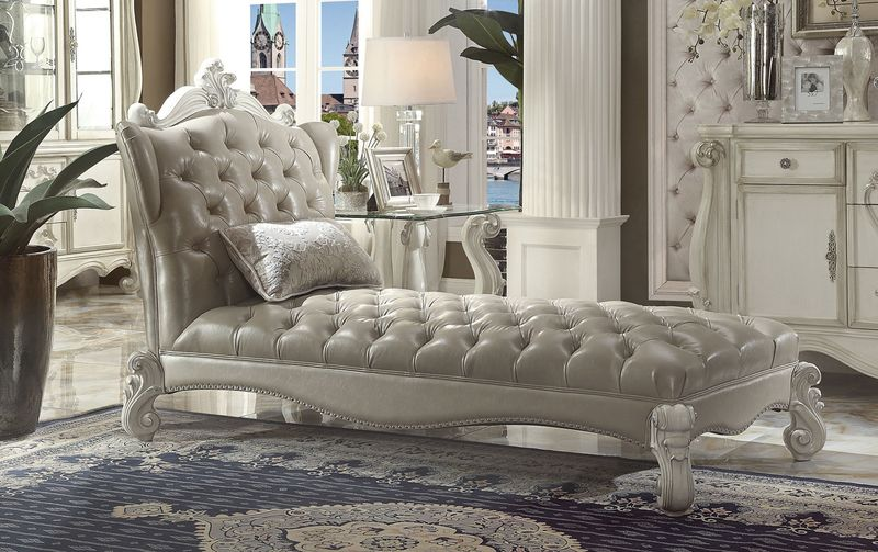 Versailles Chaise in White