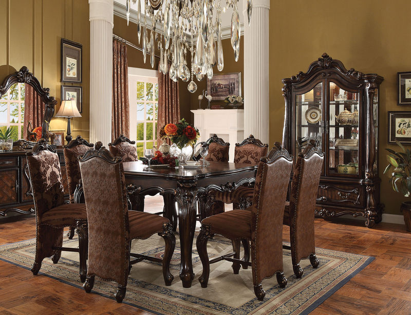 Acme 61155 Versailles Counter Height Dining Room Set In