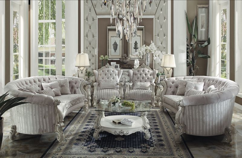 Dallas Designer Furniture Versailles Crescent Living