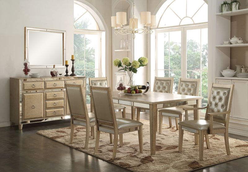 Voeville Formal Dining Room Set