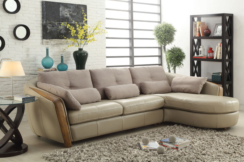 Wilko Leather Sectional