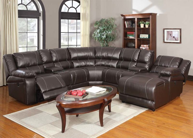 Zanthe Reclining Sectional with Power Motion