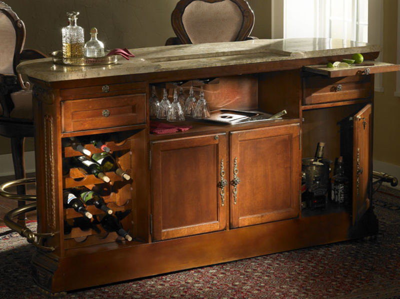 Cortina Marble Top Bar Set