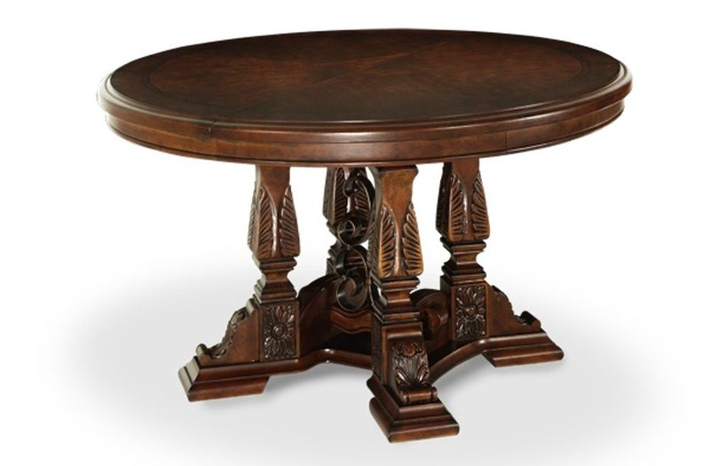 Windsor Court Formal Dining Room Set with Round Table