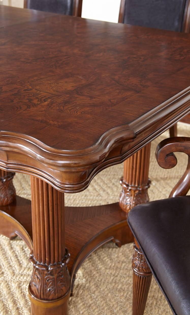 Dallas designer furniture alberta dining room set