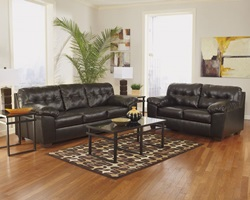 Alliston Living Room Set in Espresso