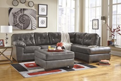 Alliston Sectional Sofa in Grey