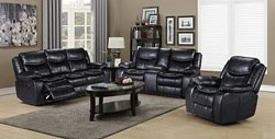 Alma Black Reclining Living Room Set