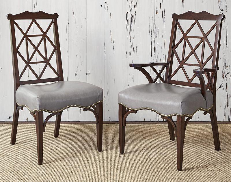 18th Century Arm Chair in Walnut