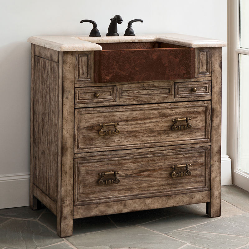 Bedford Ridge Sink Chest