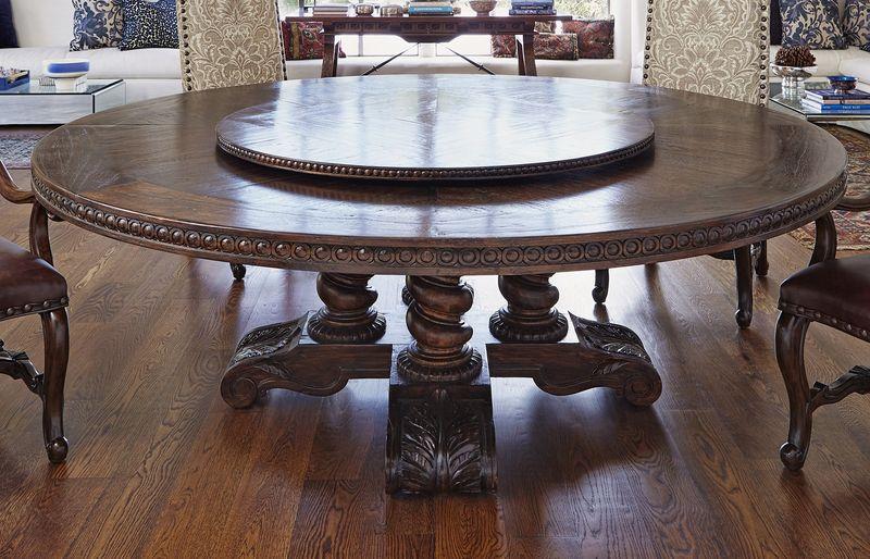 """Castilian 74"""" Round Dining Room Set"""