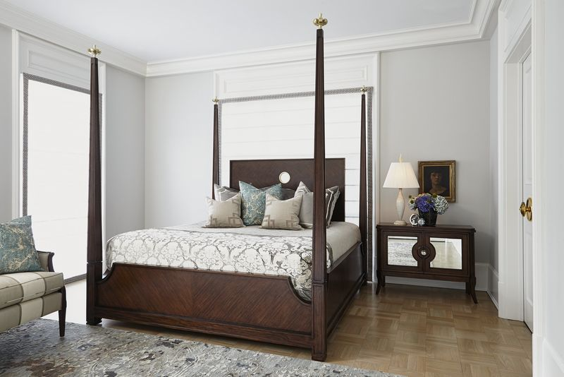 Crown Four Poster Bed