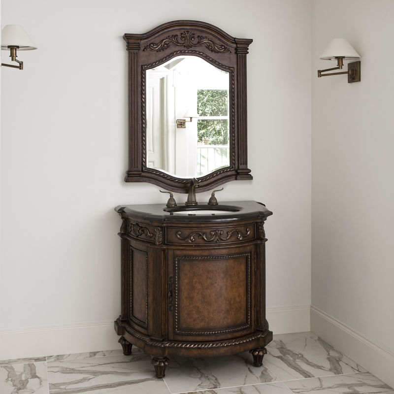 Demilune Sink Chest
