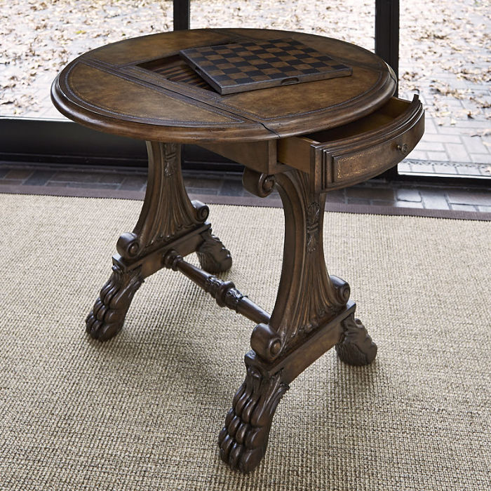 Drop Leaf Game Table