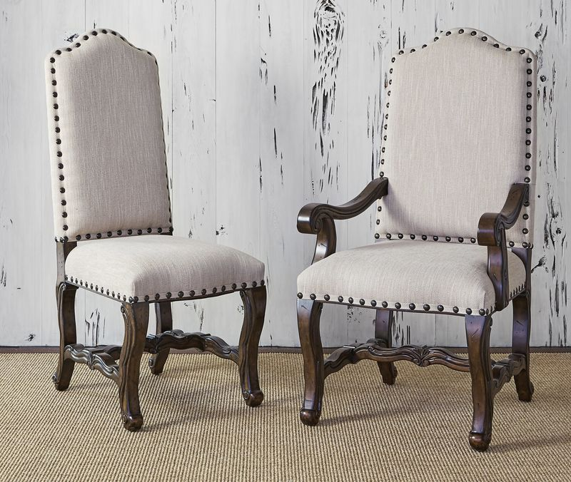Florence Arm Chair in Tweed