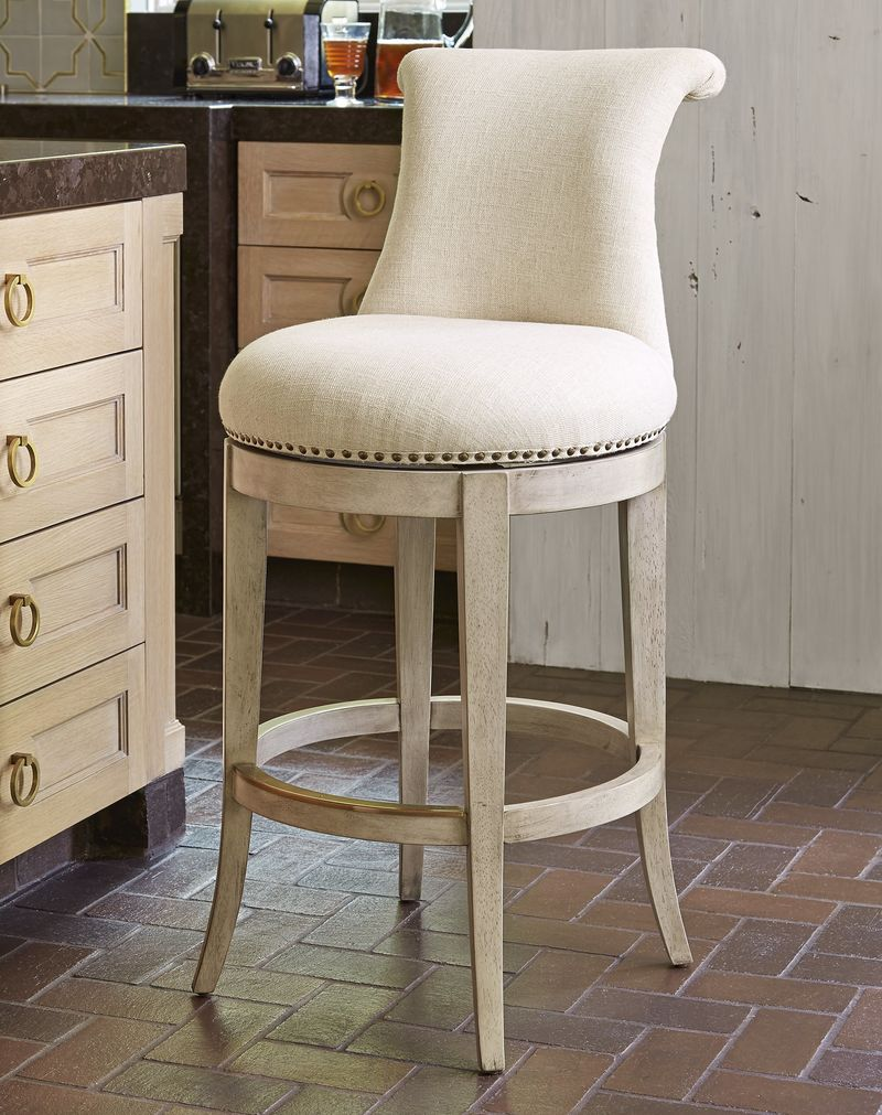 Ionic Barstool in Grey