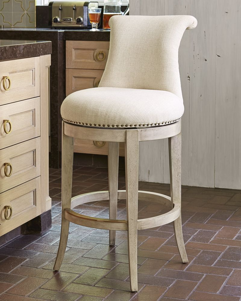 Ionic Counter Stool in Grey