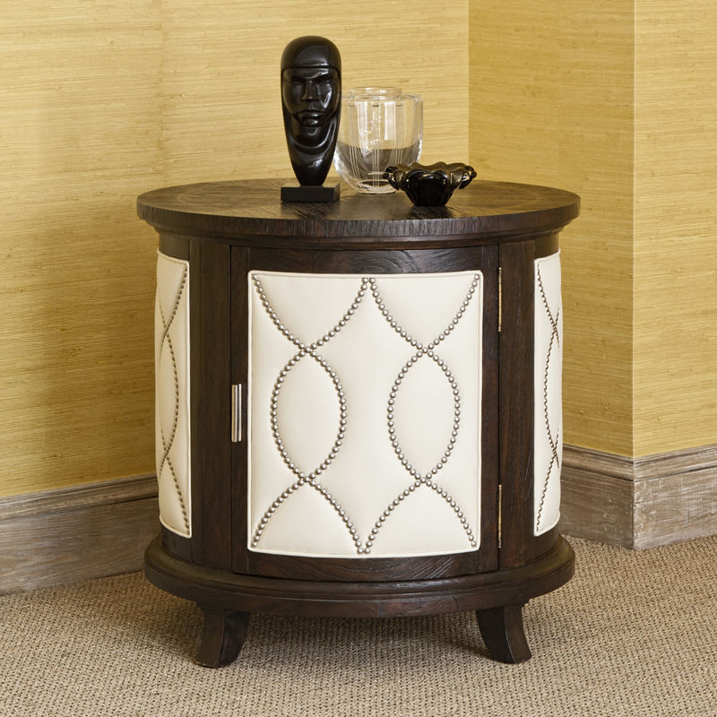 Manhattan Round Accent Table