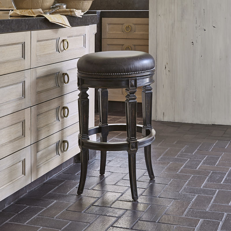 Rochelle Swivel Barstool - Armless/Backless