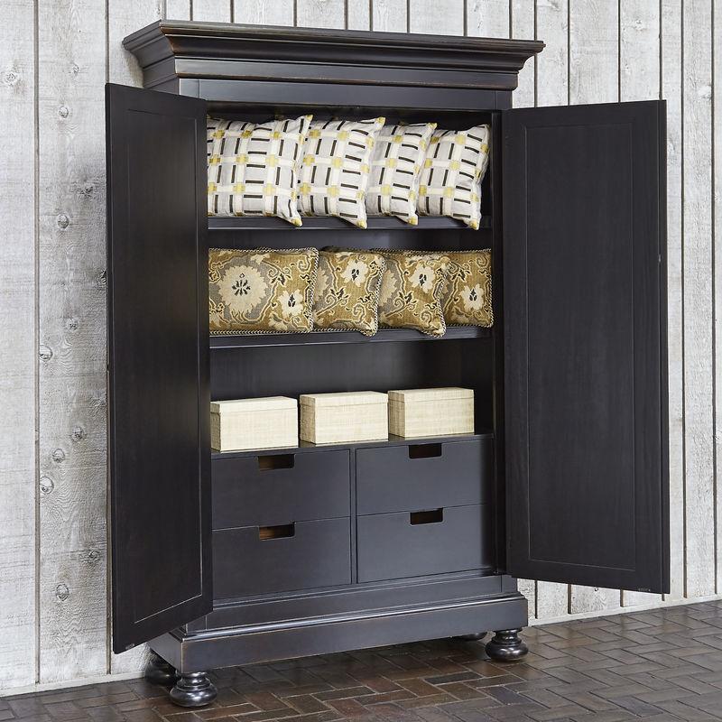 Scrolling Gate Storage Cabinet