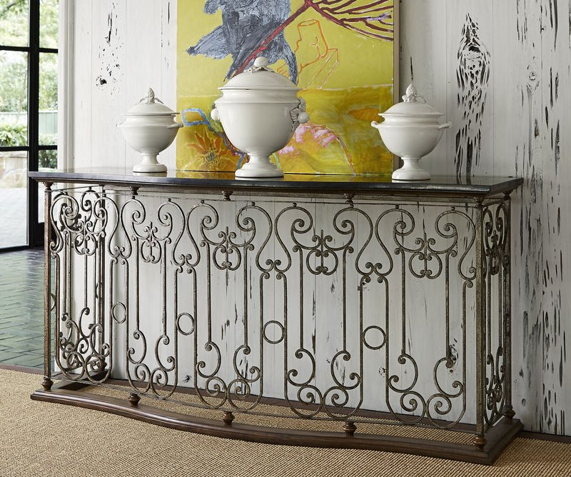 Dallas Designer Furniture Vanderbilt Console Table