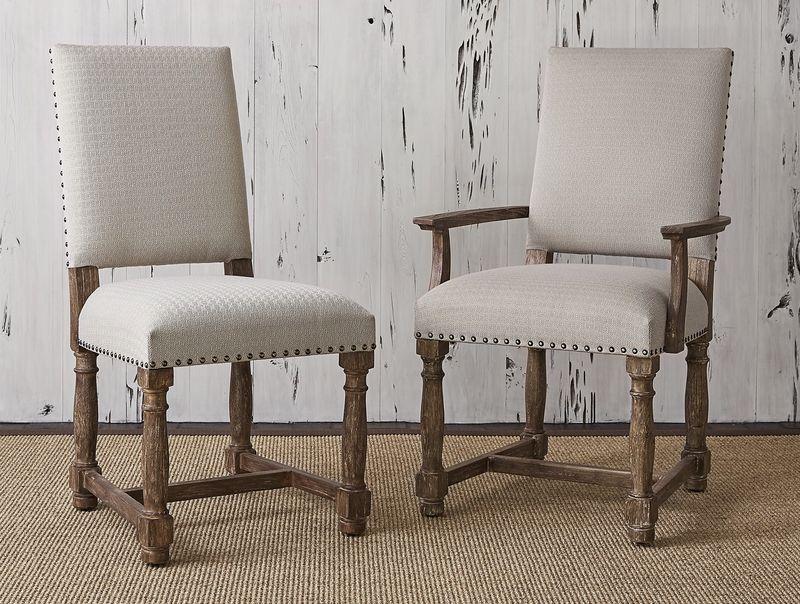 Voranado Swag Flax Arm Chair