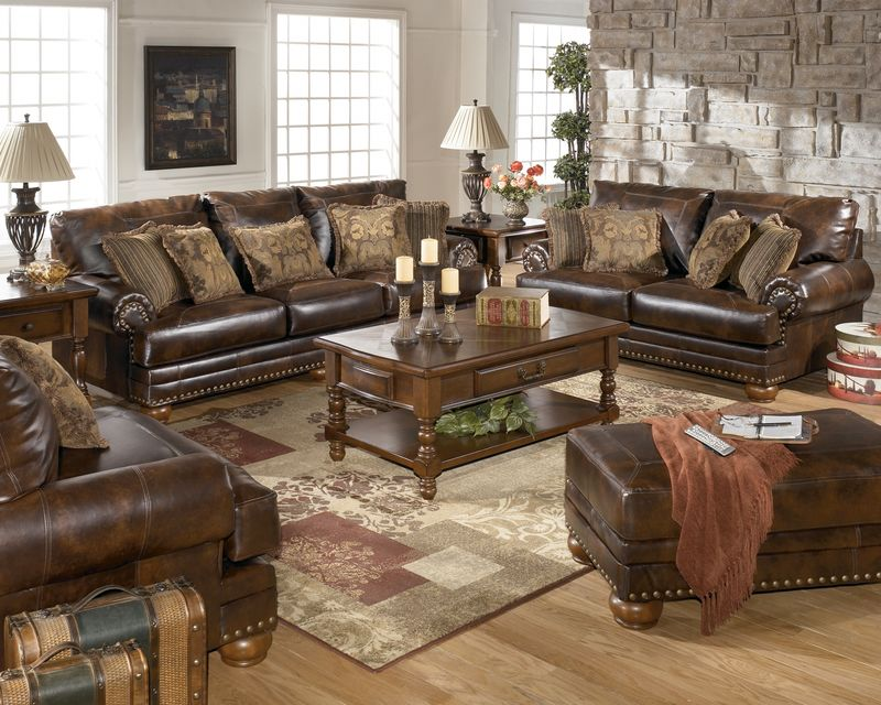 Antique Durablend Living Room Set