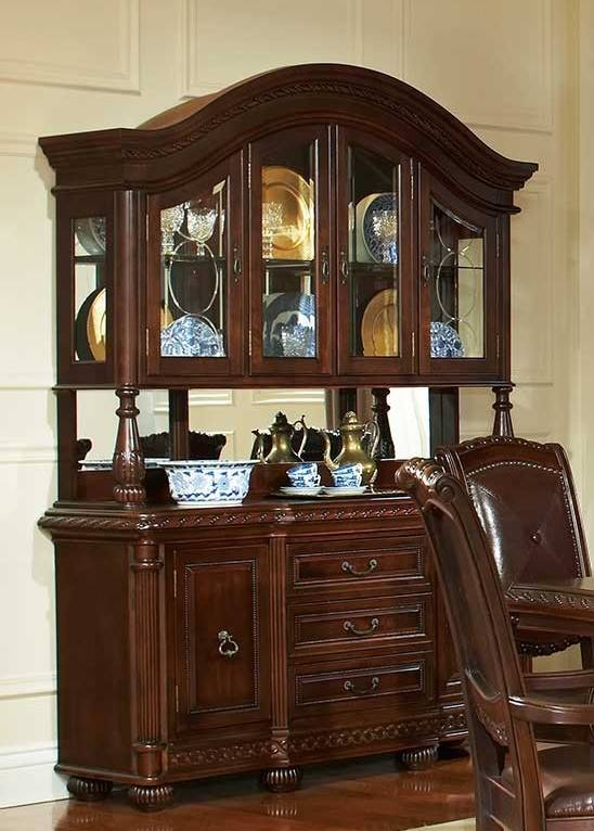 Steve Silver Ay100 Tantoinette Formal Dining Room Set