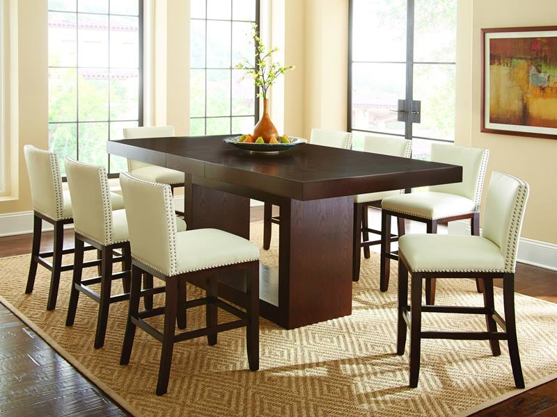pc set table sets oak flanigan shea productmain dining pd raymour height dove counter gray