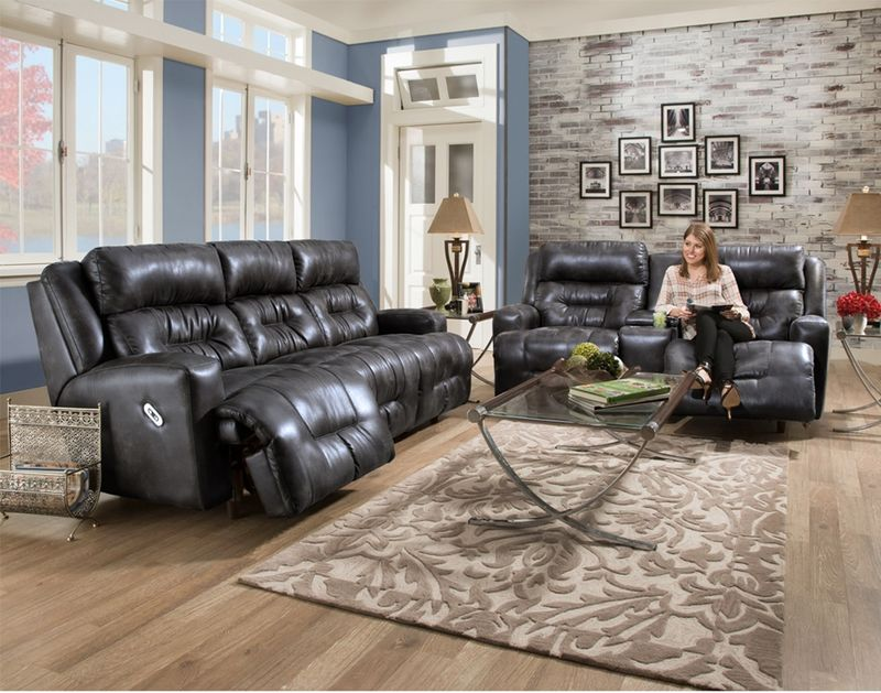 Armstrong Reclining Living Room Set With Power Motion