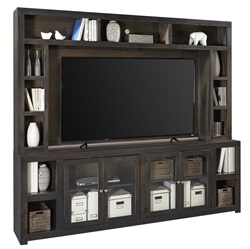 Avery Loft Entertainment Center in Black