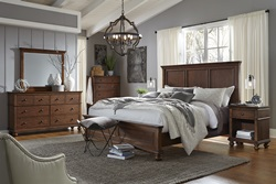 Oxford Brown Panel Bedroom Set