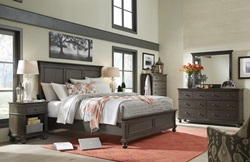 Oxford Peppercorn Panel Bedroom Set