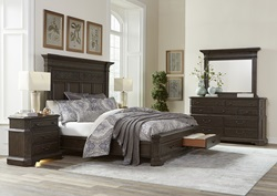 Foxhill Bedroom Set with Storage Bed