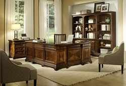 Hawthorne Executive Desk with Reversible Return