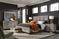 Hyde Park Storage Bedroom in Grey