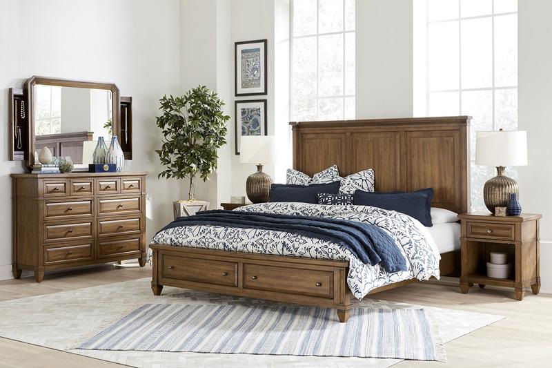 I34 Thornton Storage Bedroom Set Aspen Home Free Delivery