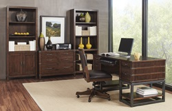 Canfield Half Ped Desk Set