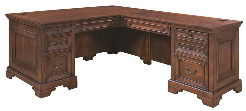 Richmond Computer Desk with Return