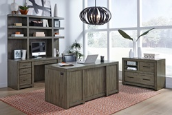 Modern Loft Executive Desk Set