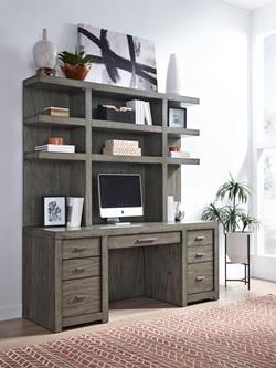 Modern Loft Computer Desk Set
